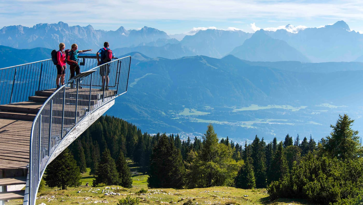 Wandern am Dobratsch in Kärnten