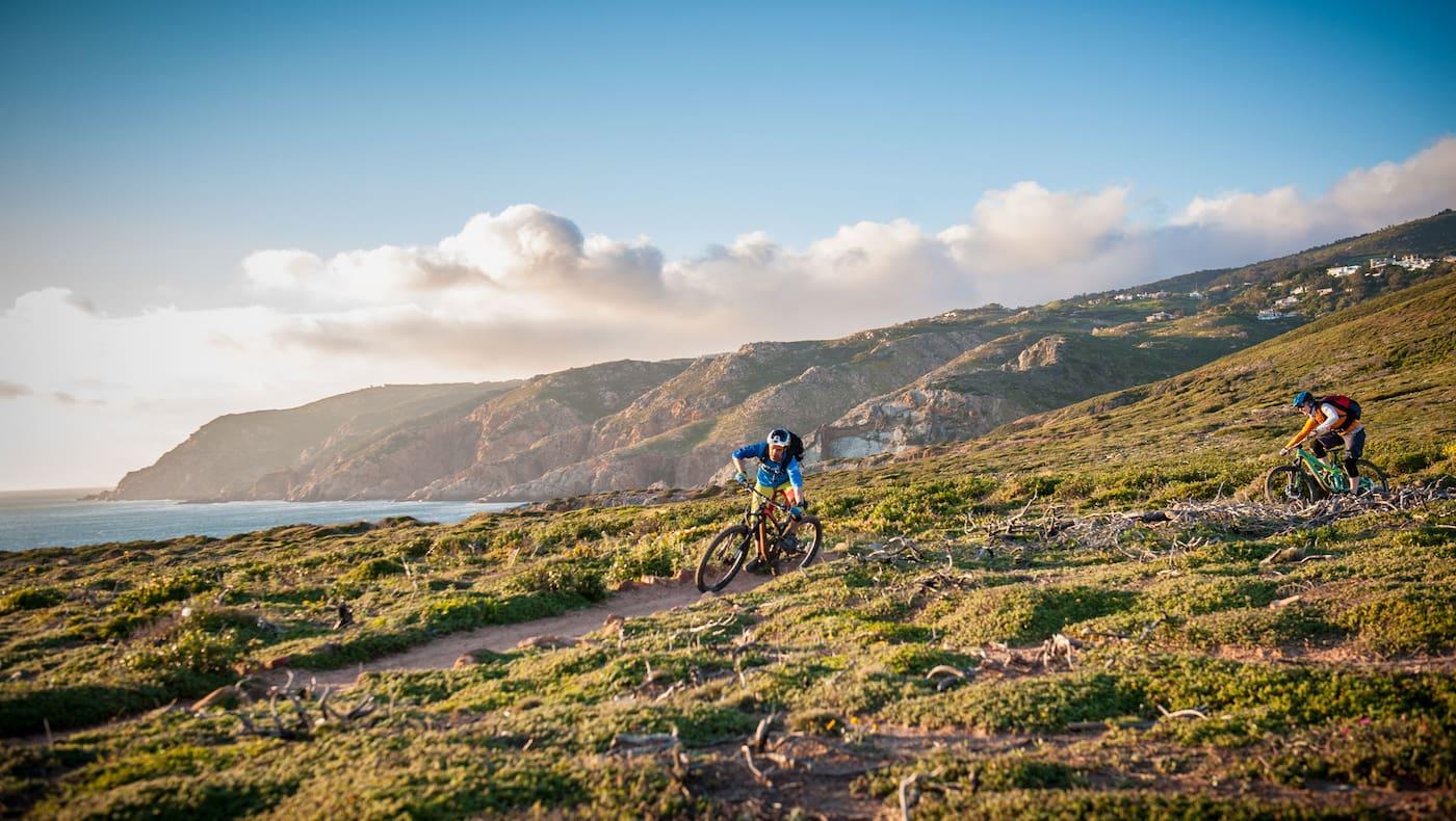 Mountainbiken Lissabon Portugal