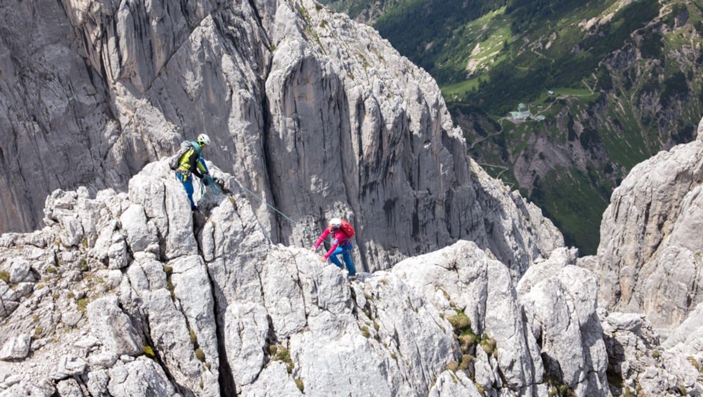 Hintere Goinger Halt - Nordgrat, Wilder Kaiser