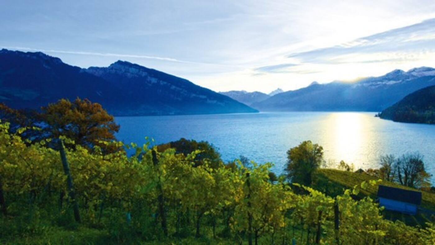 Auf 2 Rädern zu 7 Schweizer Seen