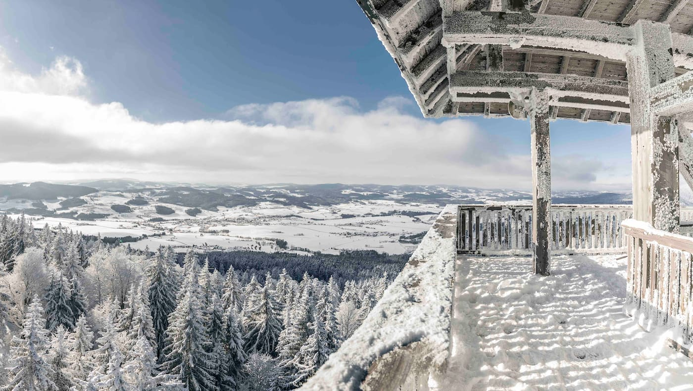 Alpenblick in der Ferienregion Böhmerwald