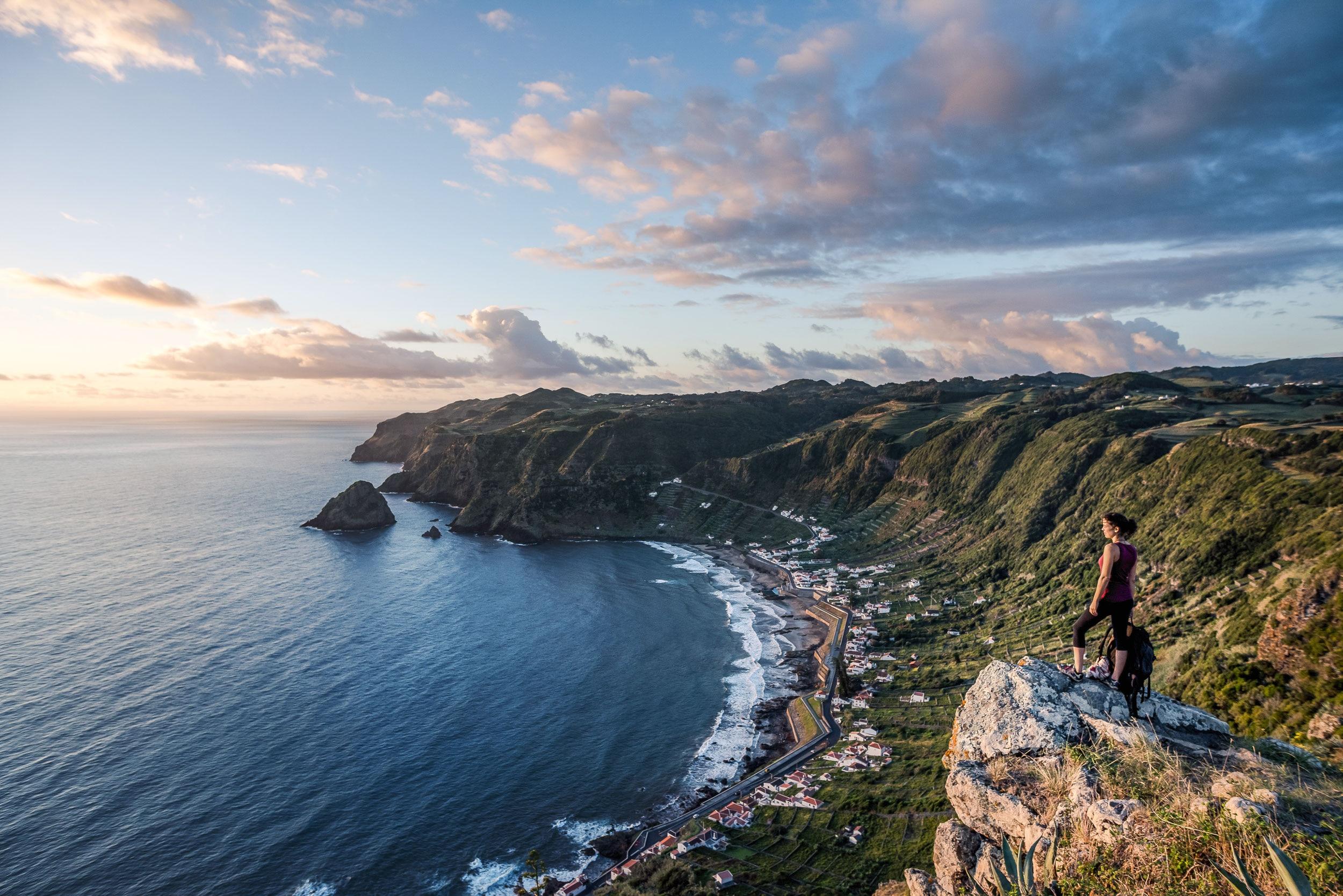 Reise Wandern Auf Den Azoren Bergwelten