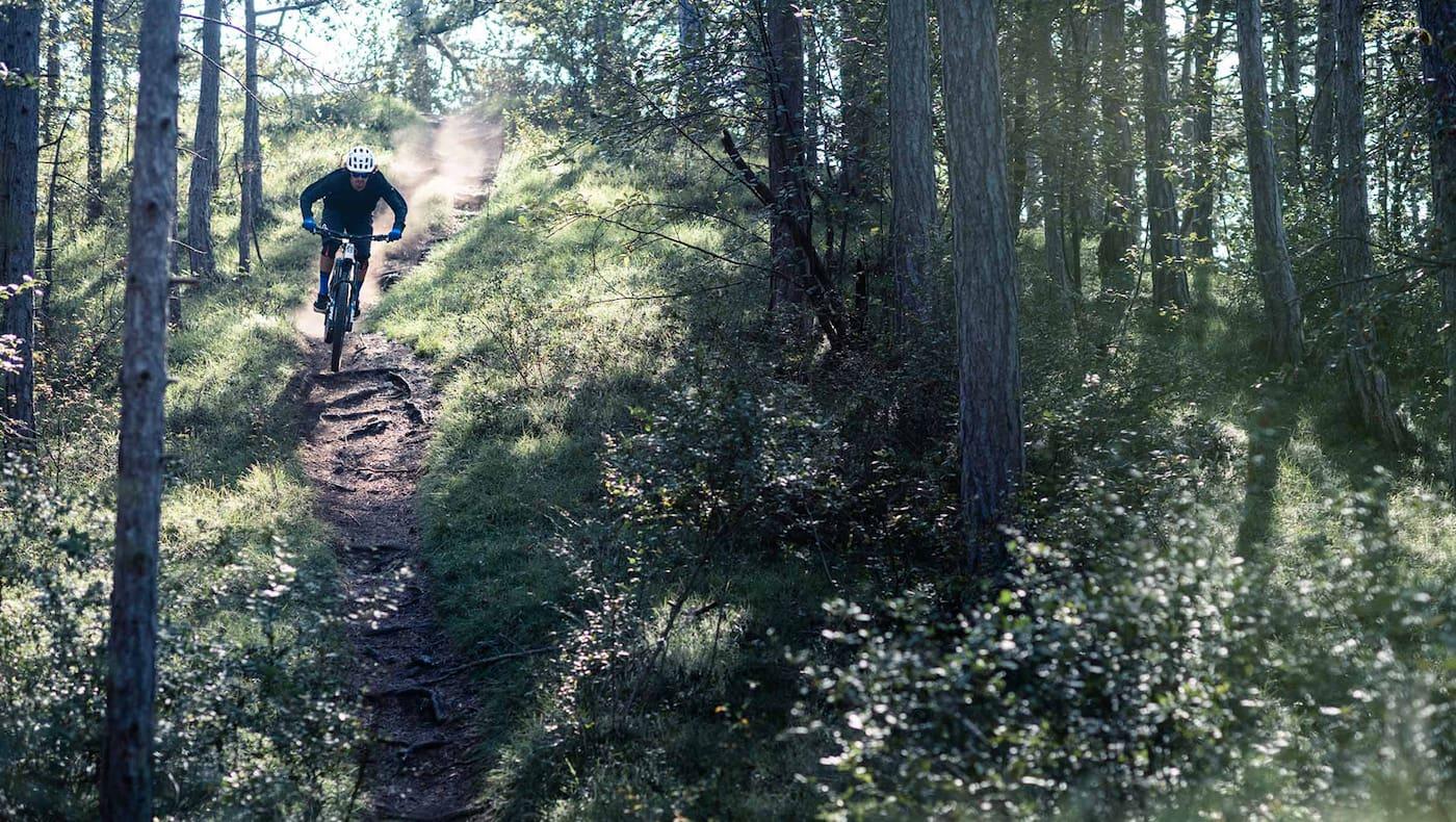 Mit dem E-Bike ins Gelände – da kommt Freude auf.