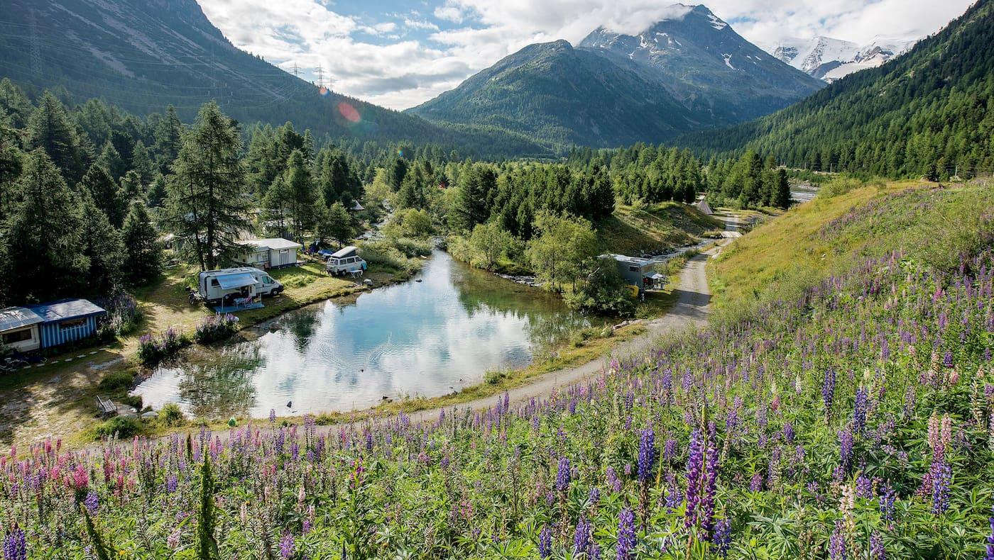 Campingplätze in der Schweiz
