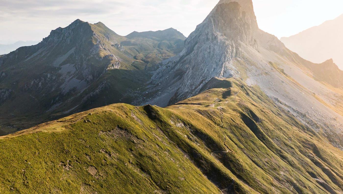 Unterwegs am Prättigauer Höhenweg im Rätikon