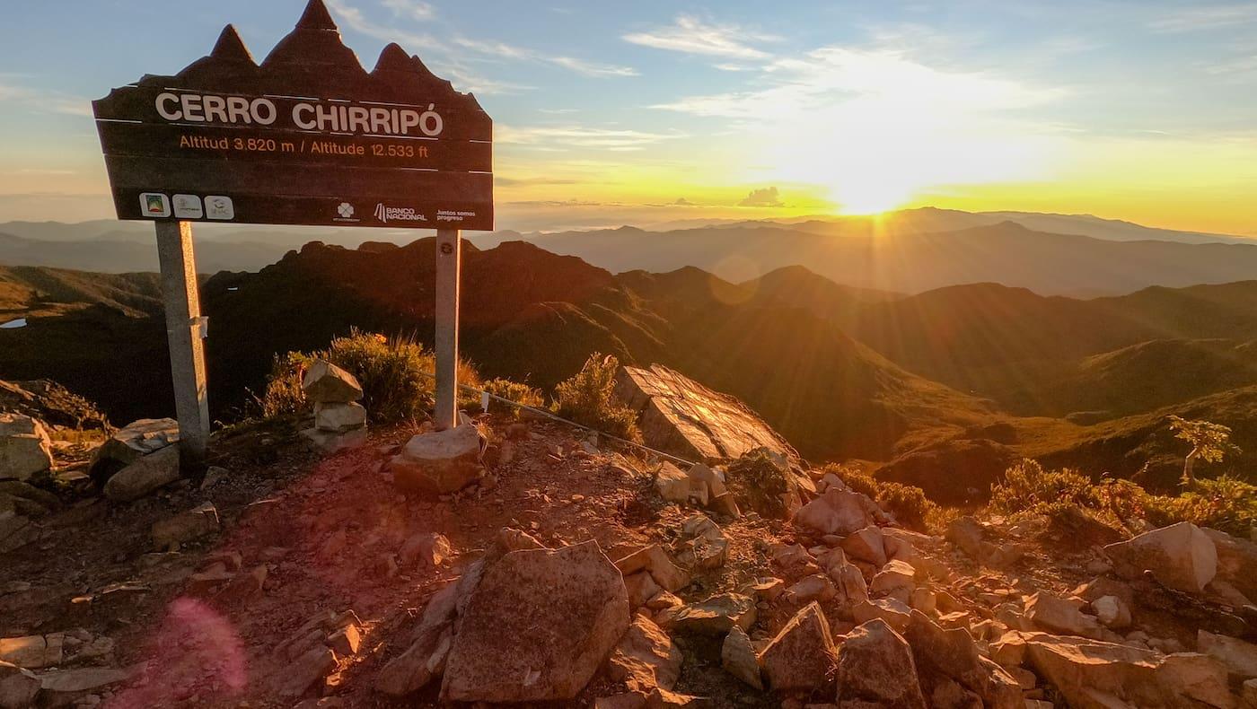 Costa Rica Reise Wandern Cerro Chirripó