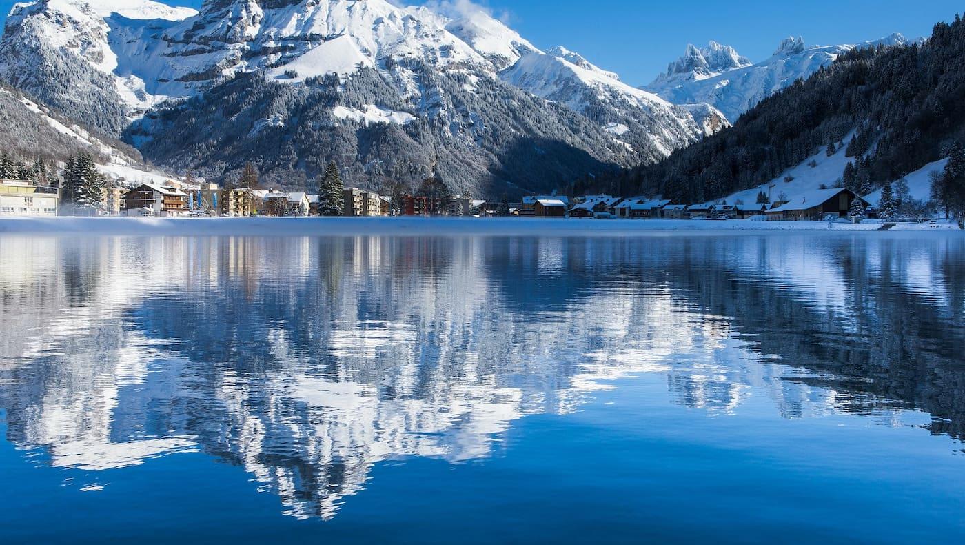 Das Winterparadies im Tal der Engel