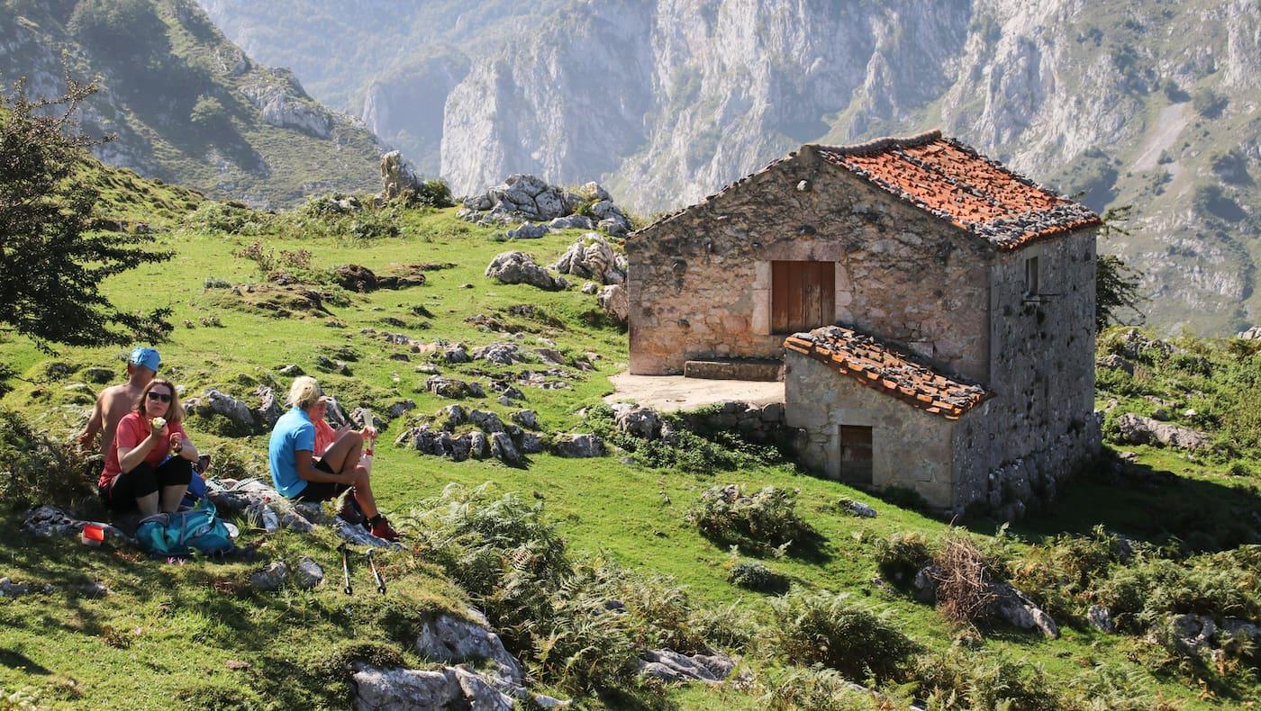 Wandern Picos de Europa Spanien
