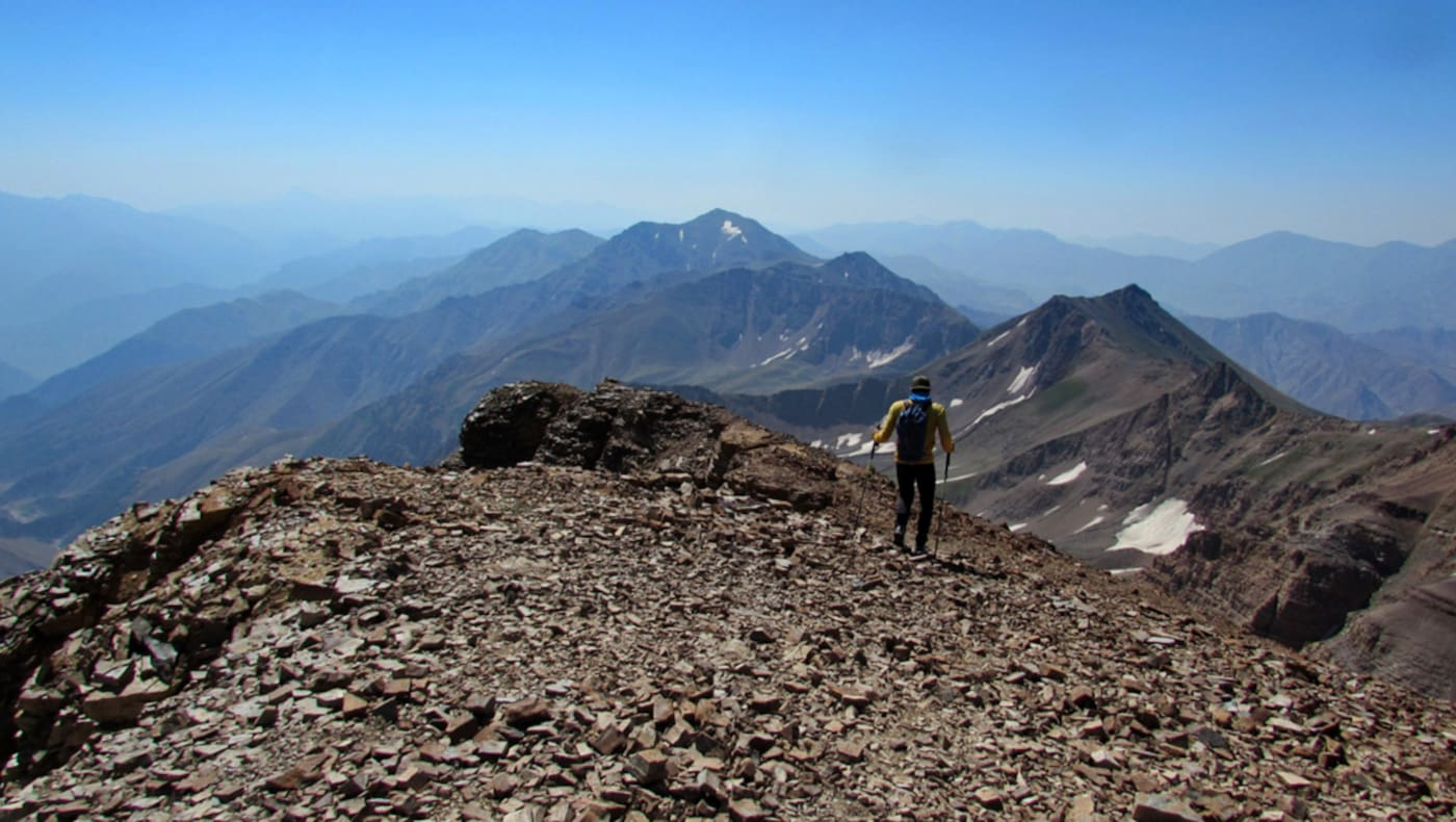 Bergsteigen Iran