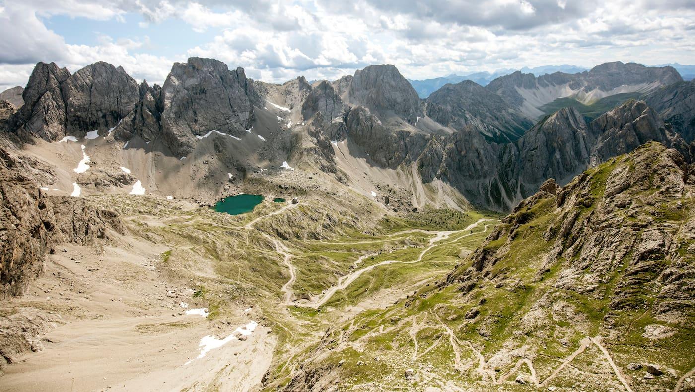 Lienzer Dolomiten Panorama