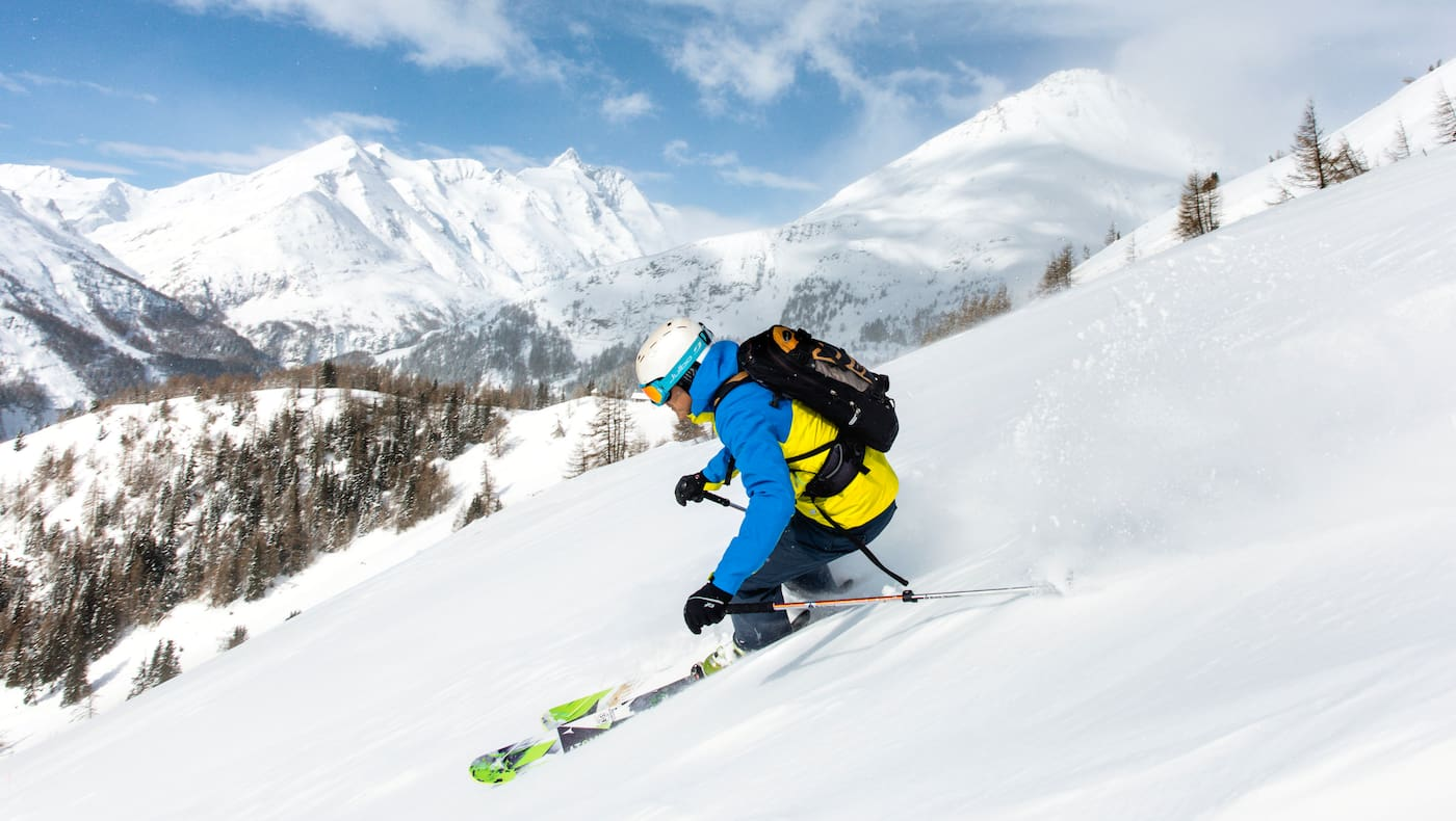 Freeriden im Skigebiet Heiligenblut