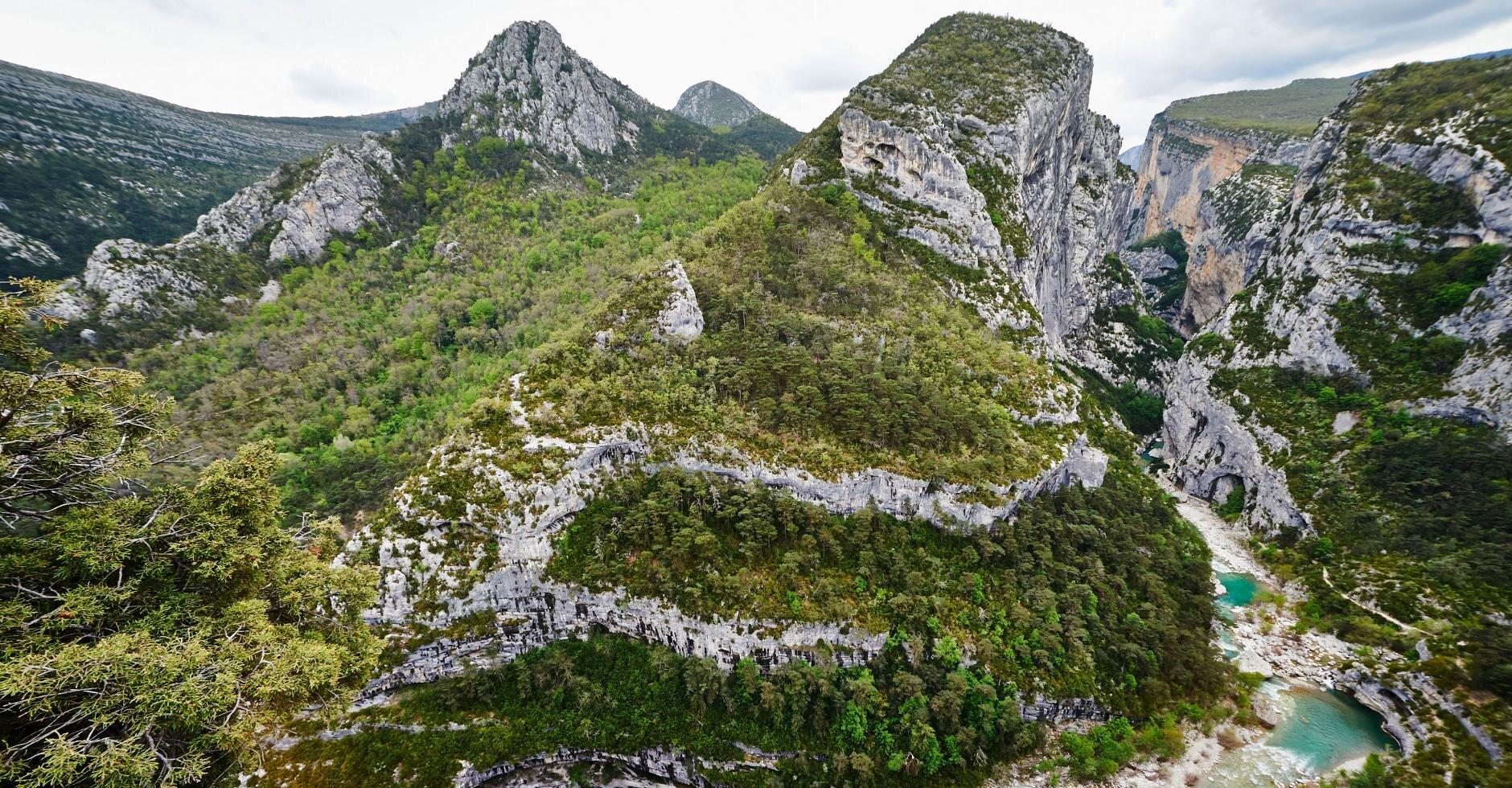 Klettersteig Verdon : Die schlucht von verdon bergwelten