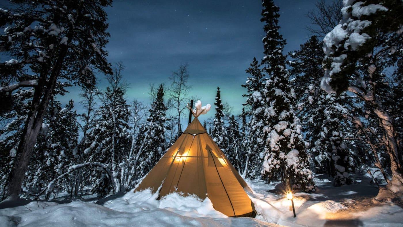 Schwedisch Lappland Reise