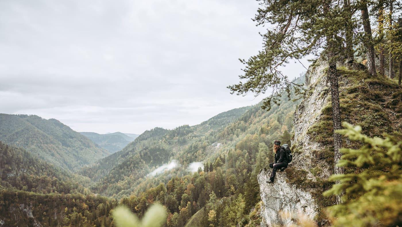 Der Luchs Trail führt durch die wilde Mitte Österreichs