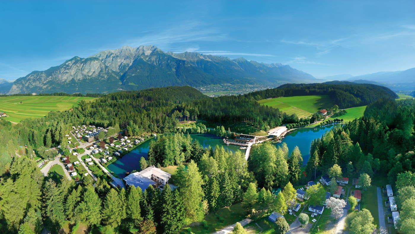 Camping Ferienparadies Natterer See bei Innsbruck