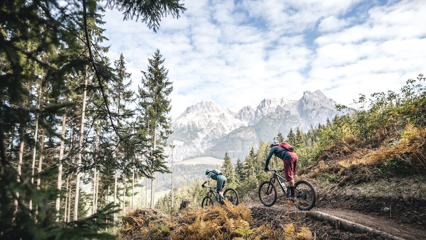 Wer über eine gute MTB-Technik verfügt, kann sich auf dem Trail auf das Wesentliche konzentrieren: das Spaß haben!