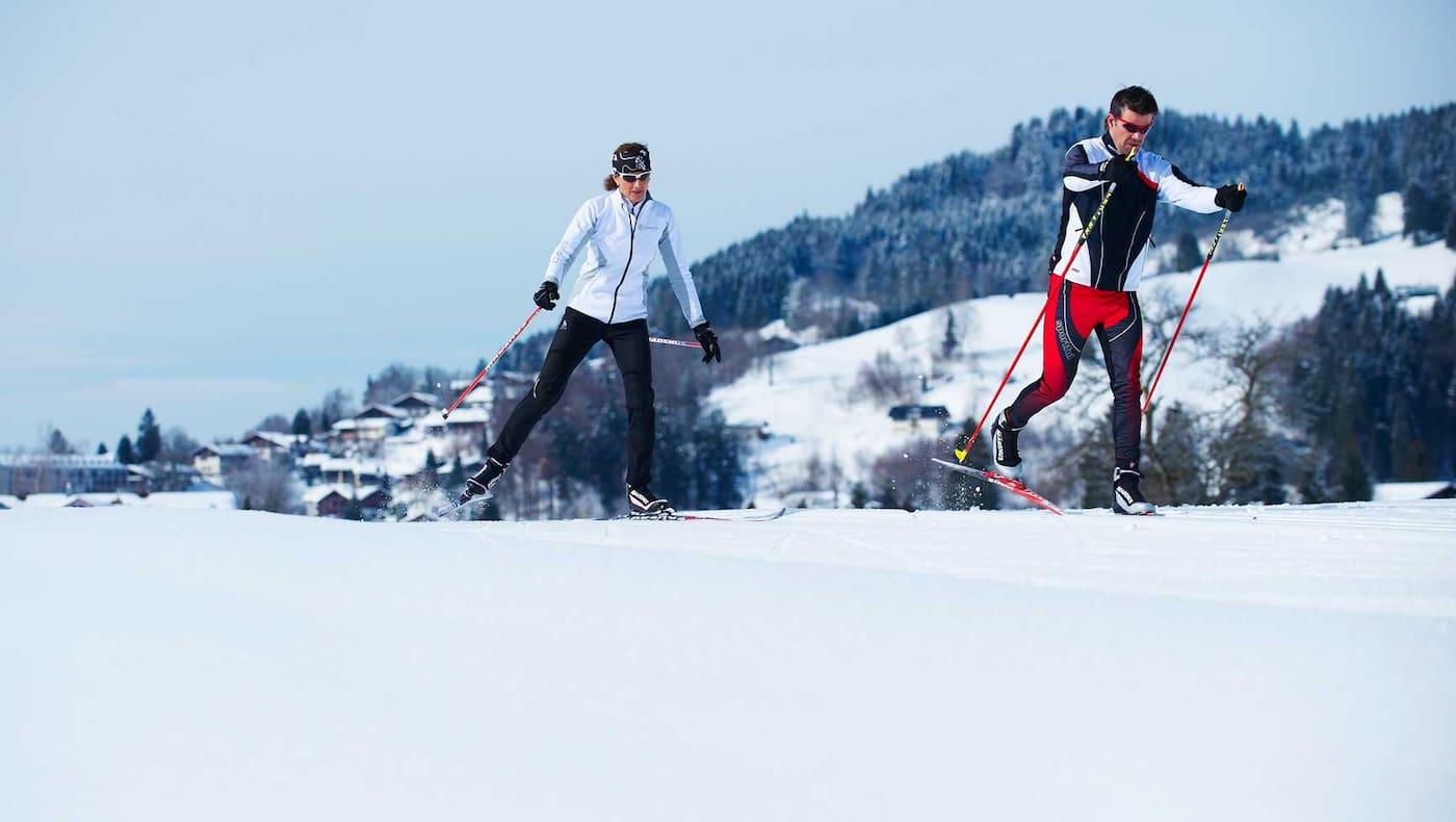 Die Qual der Wahl: Winter in Oberstaufen