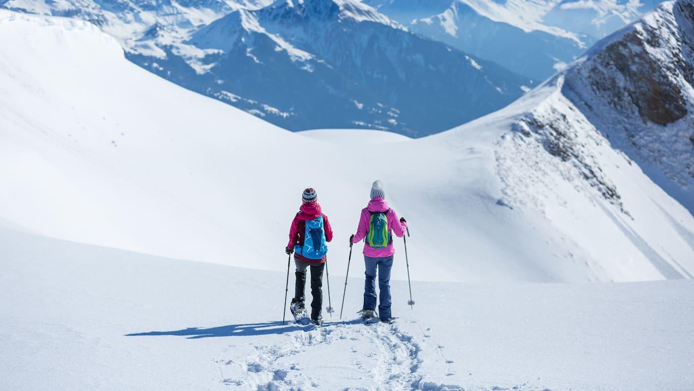 Schneeschuhwandern am Pizol