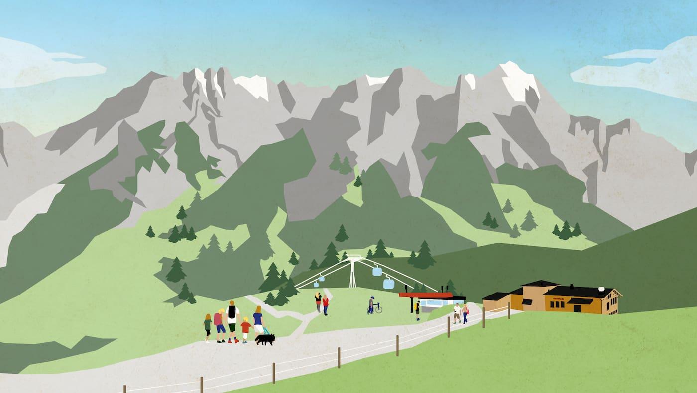 Bergwelten Wandertag Leogang 2019