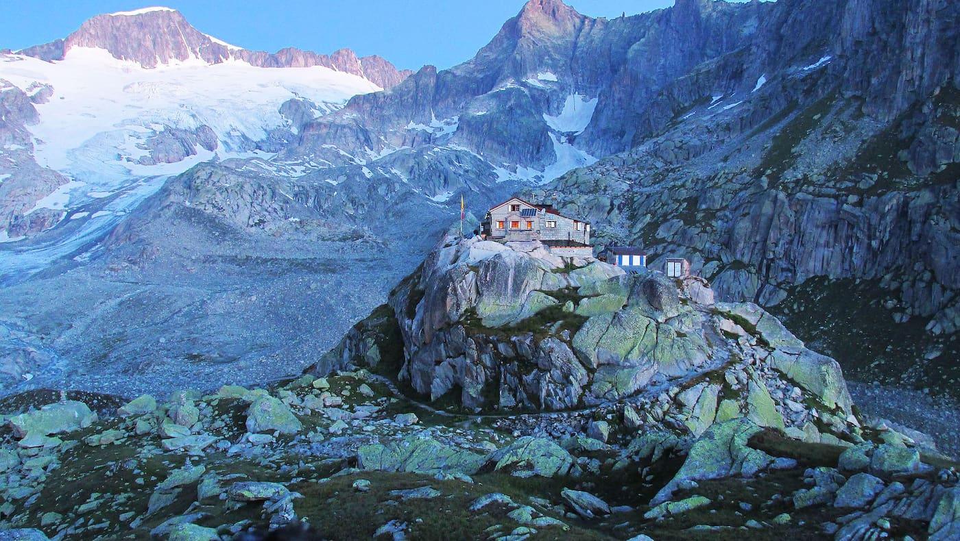 Albert-Heim-Hütte in den Urner Alpen