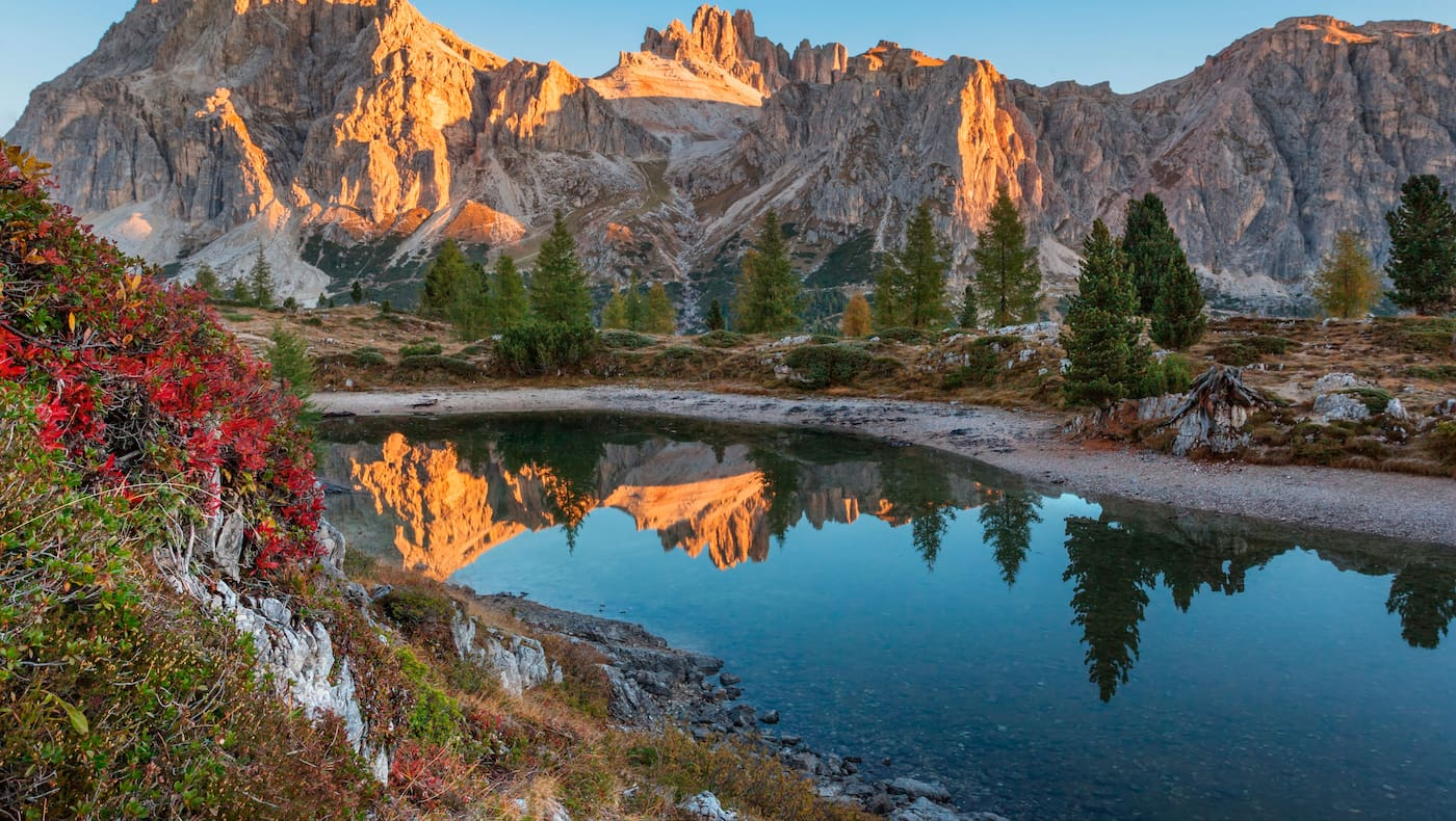 Dolomiten: Belluno in Italien