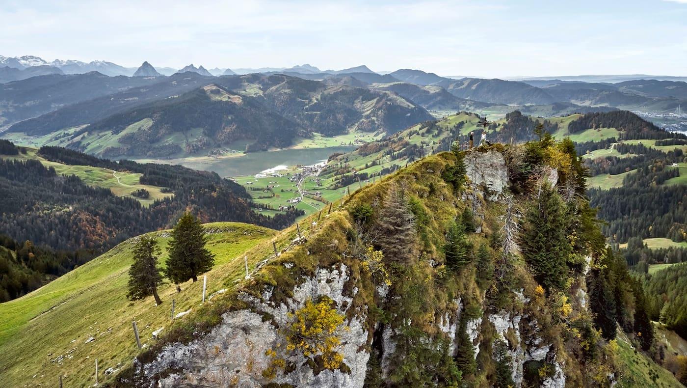Mit dem Chli Aubrig erreicht man den höchsten Punkt des ersten Tages.