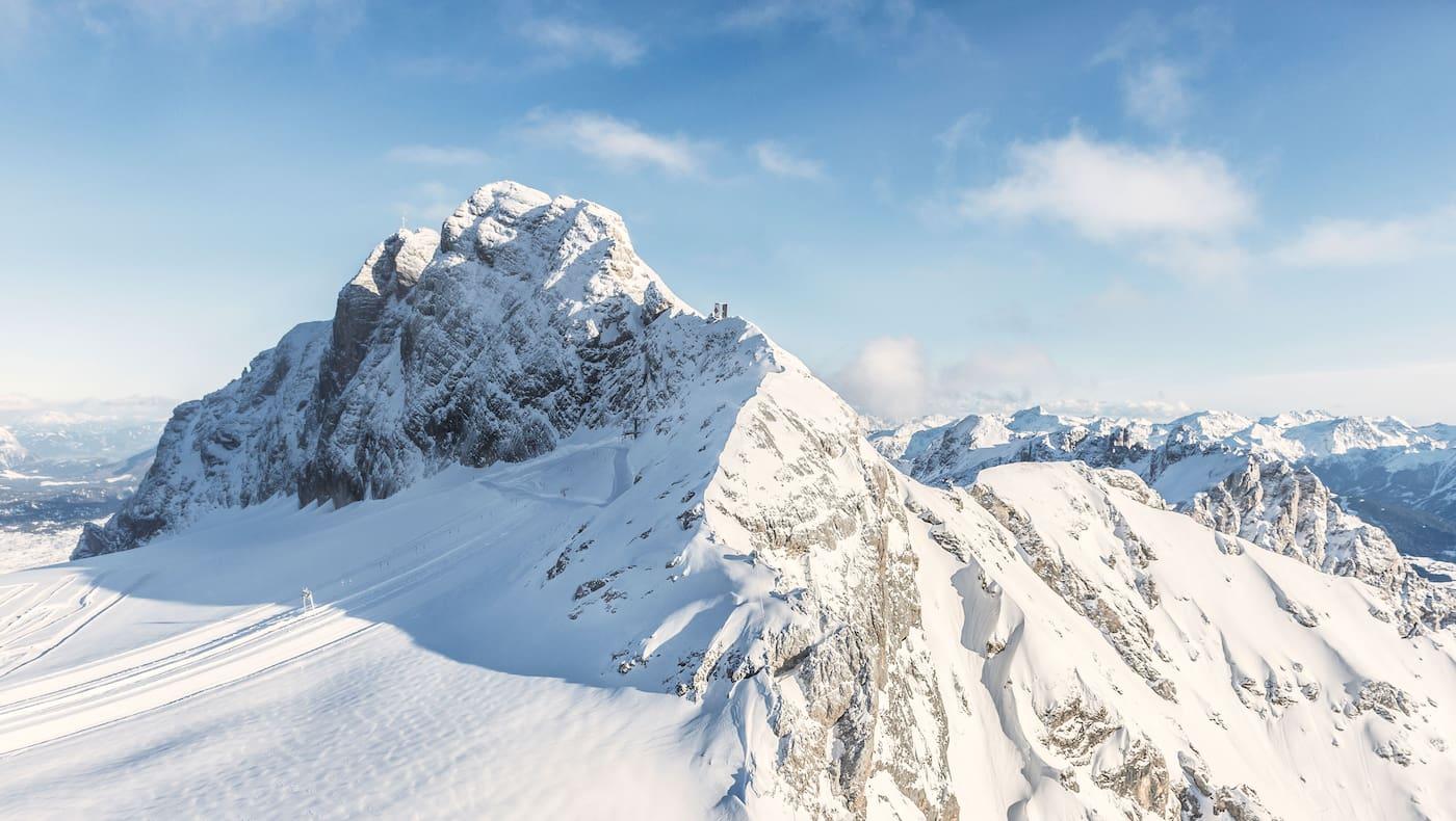 Schladming in der Steiermark: Dachstein im Winter