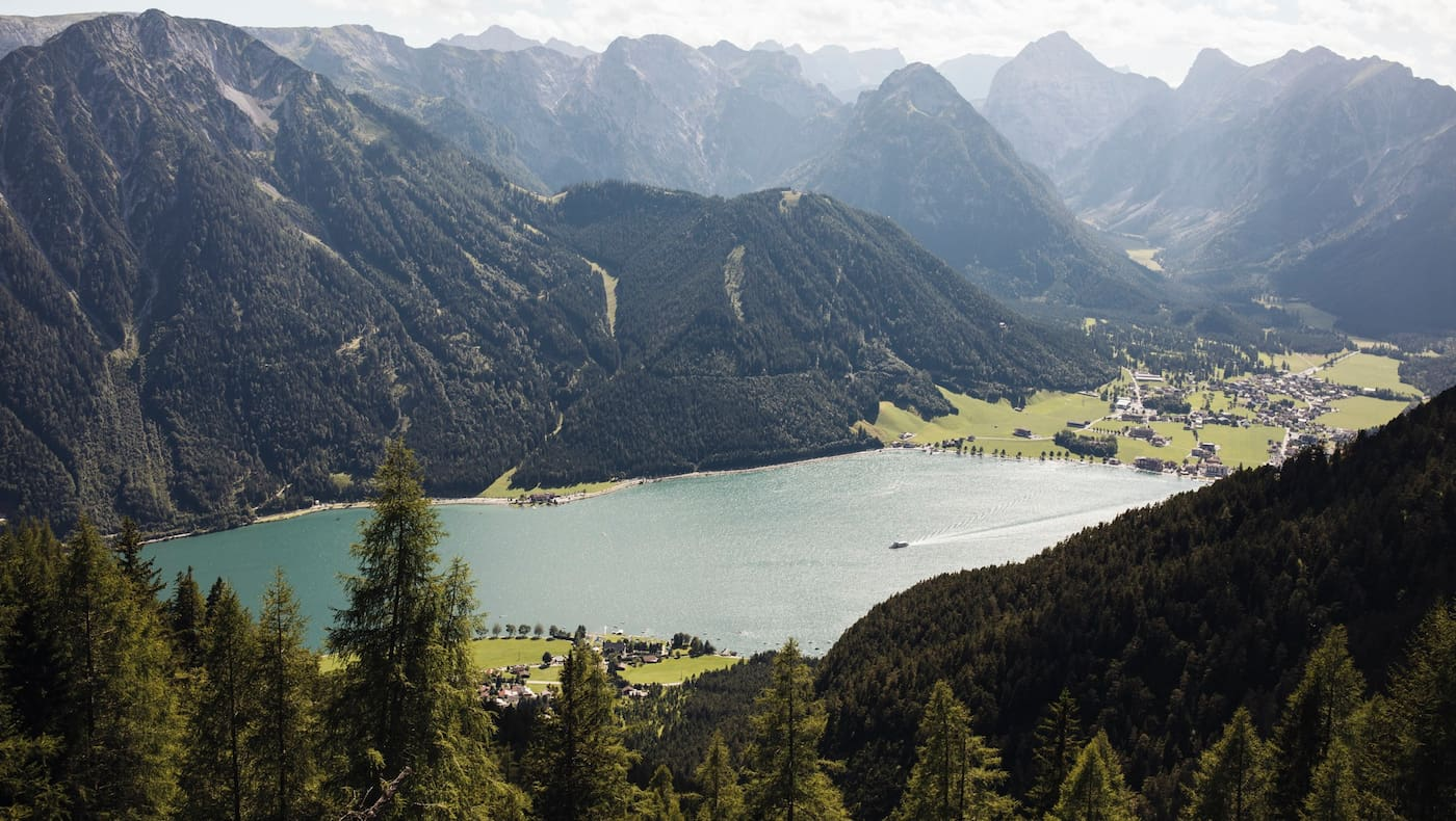 Der Achensee, Tirols größter See