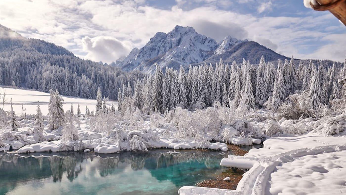 Winterliches Slowenien