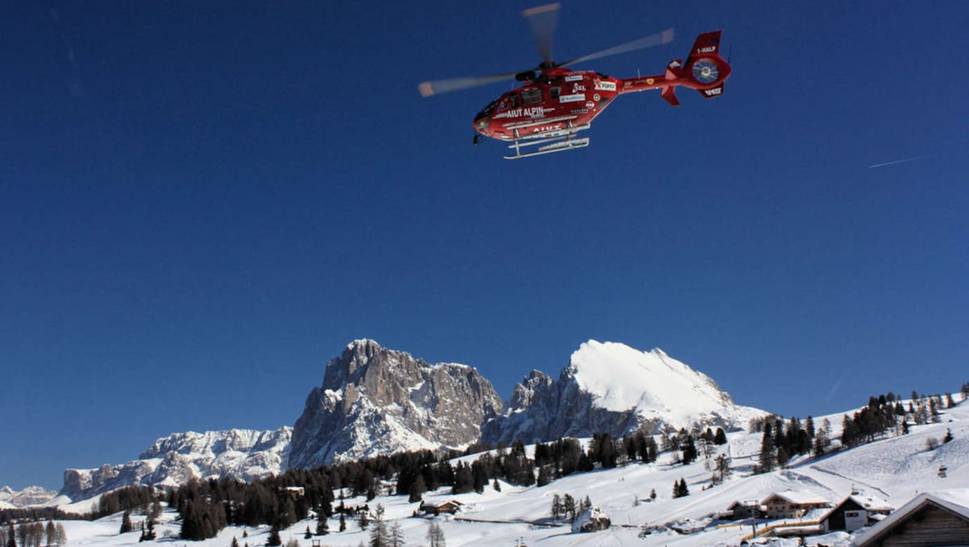 Notruf Helikopter Bergrettung