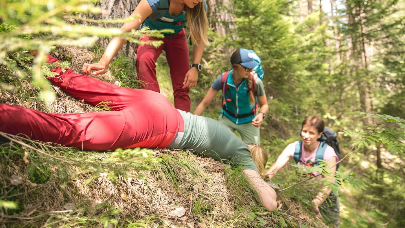 Alpine Nothilfe im Gelände: Was tun?