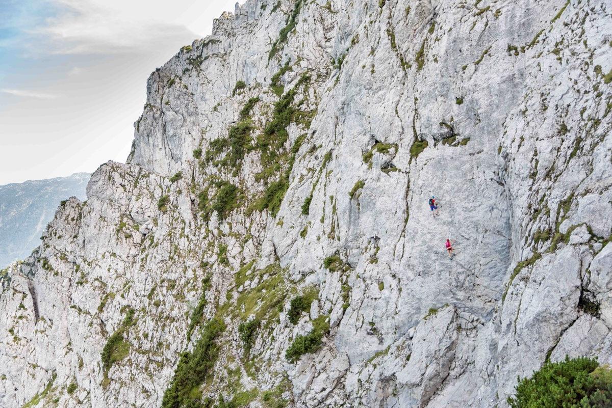Klettersteig Wolfgangsee : Klettersteig katrin m