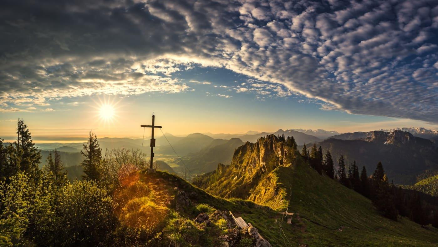 Wunderschönes Wandergebiet rund um Ruhpolding im Chiemgau