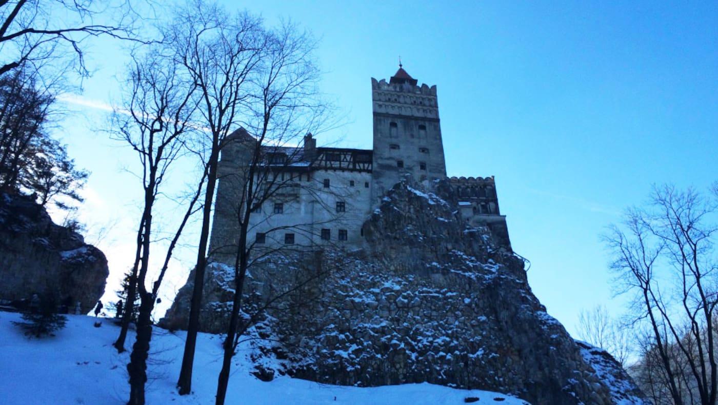 Transsilvanien: Schloss Bran bei Brașov