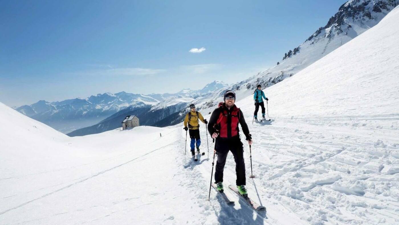 Skitour: Sesvenna in Südtirol