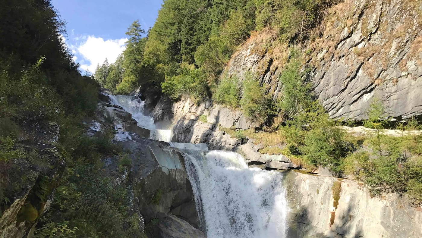 Die Umbalfälle im Nationalpark Hohe Tauern Osttirol