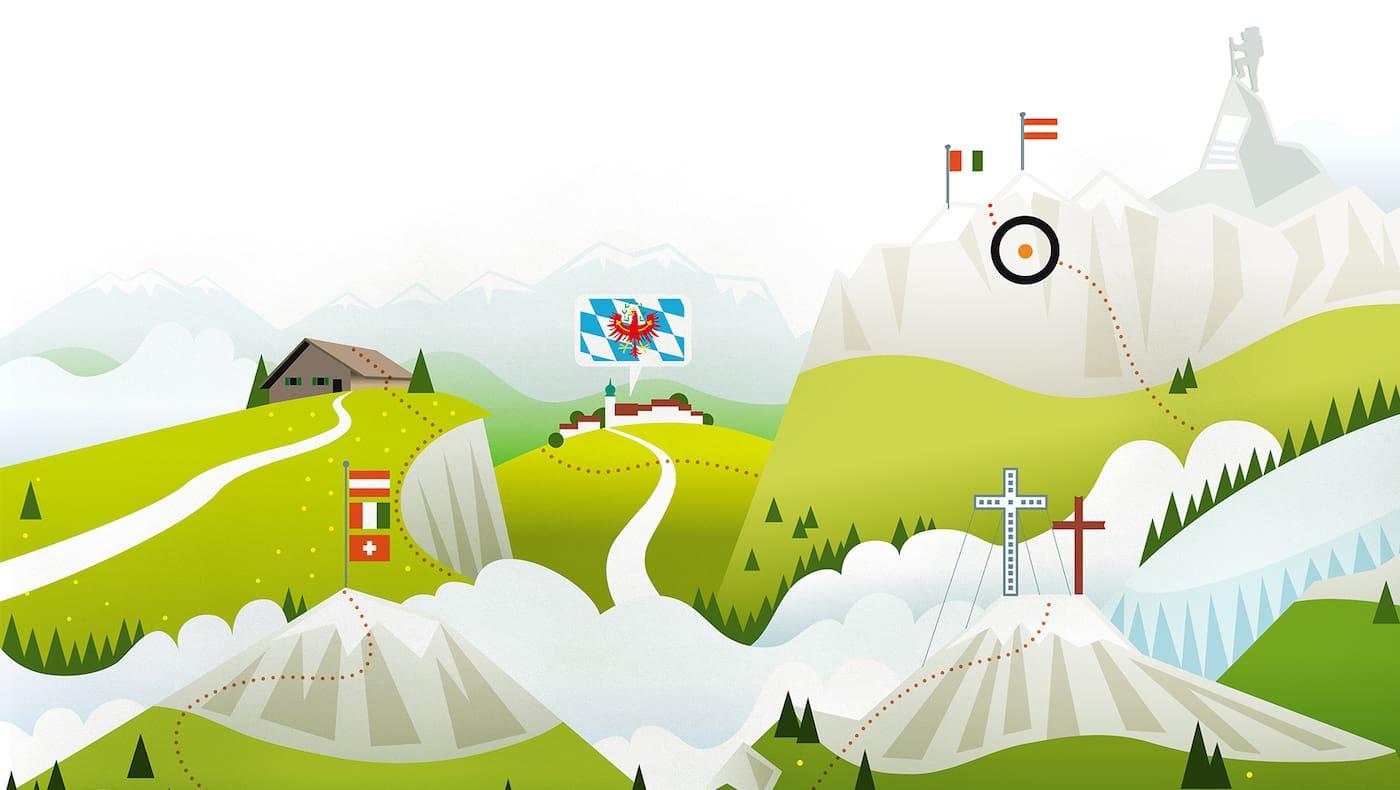 Bergwelten Sommerrätsel: Grenzfälle