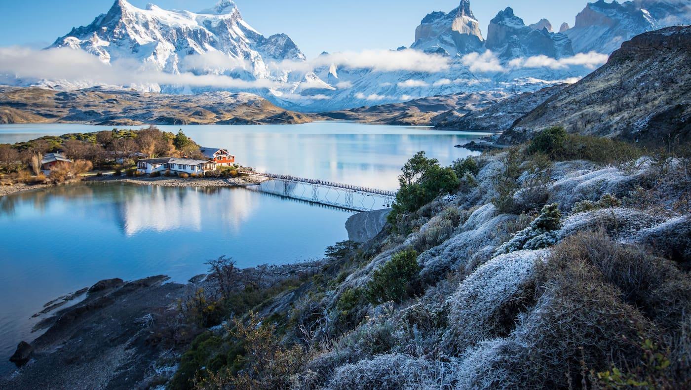 Patagonien Pehoe Lake Torres del Paine