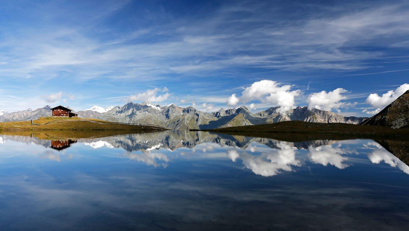 Lasörling Höhenweg in Osttirol: Am Zupalsee