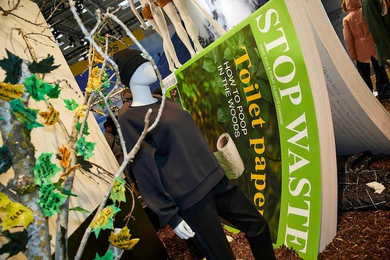 """Stichwort Nachhaltigkeit: Die ISPO gab sich dieses Jahr sehr """"grün"""""""