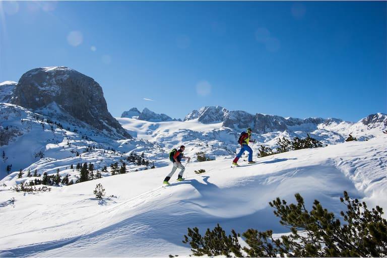 Skitouren-Gehen am Dachstein