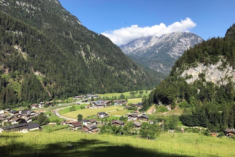 Das Bergsteigerdorf Weißbach bei Lofer im Salzburger Saalachtal