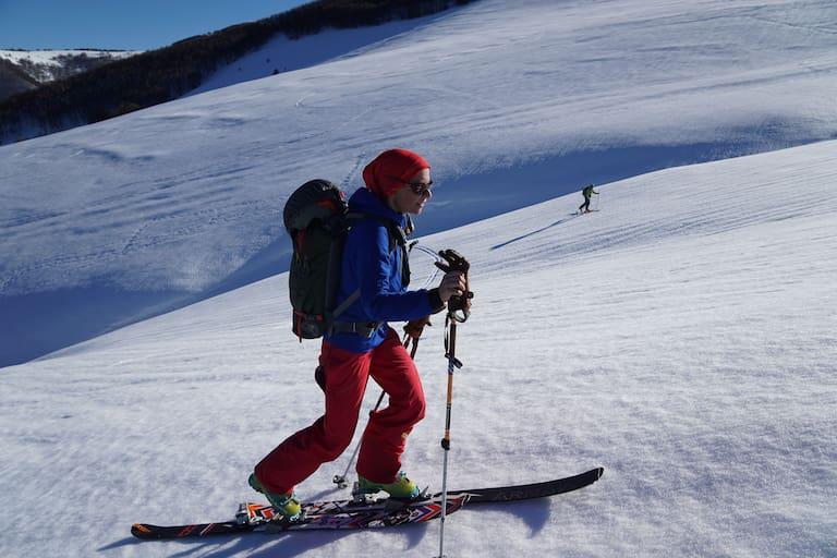 Frühjahr: Skitour in den Abruzzen