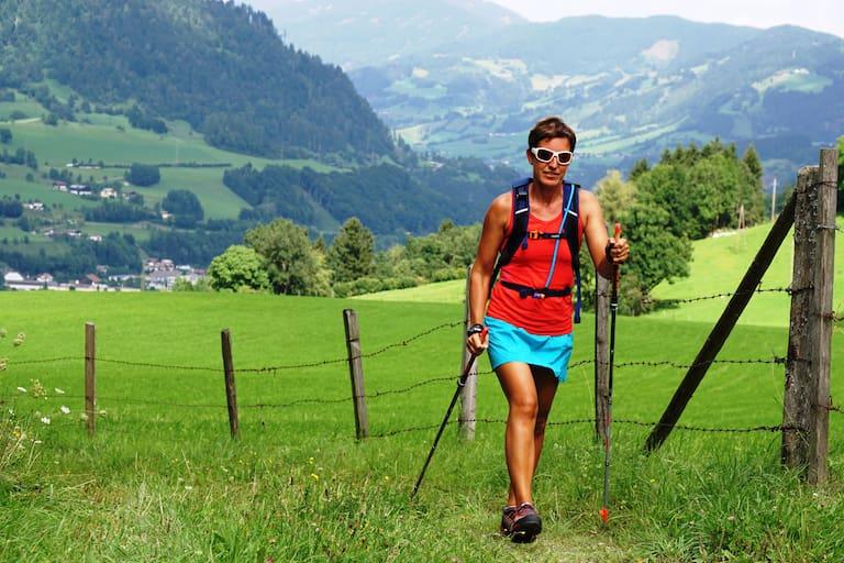 Speed-Hiken: Schnelles Gehen am Berg