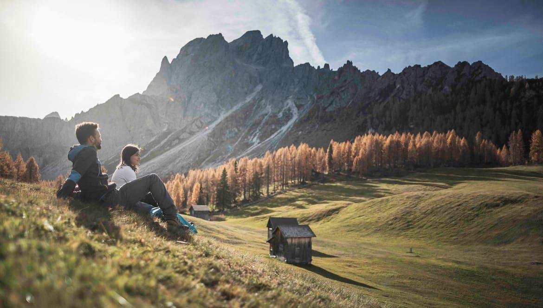Von den Rotwandwiesen genießt man einen wunderbaren Blick auf die Dreischustersptize.