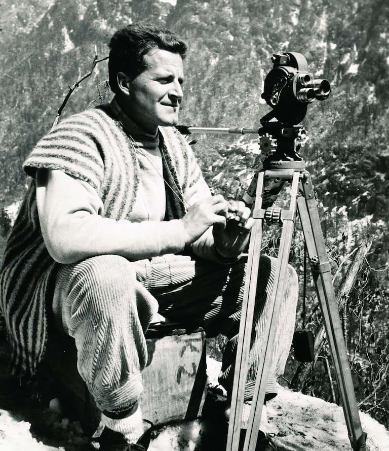Norman Dyhrenfurth Bergwelten RetroAlpin