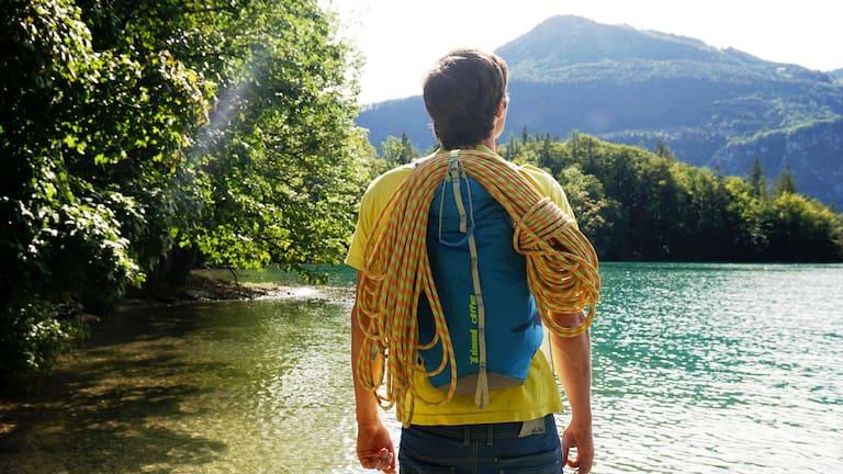 Rucksack fürs alpine Sportklettern