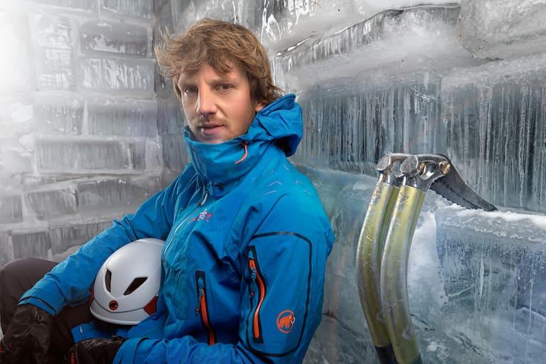 Peter Ortner Eisklettern