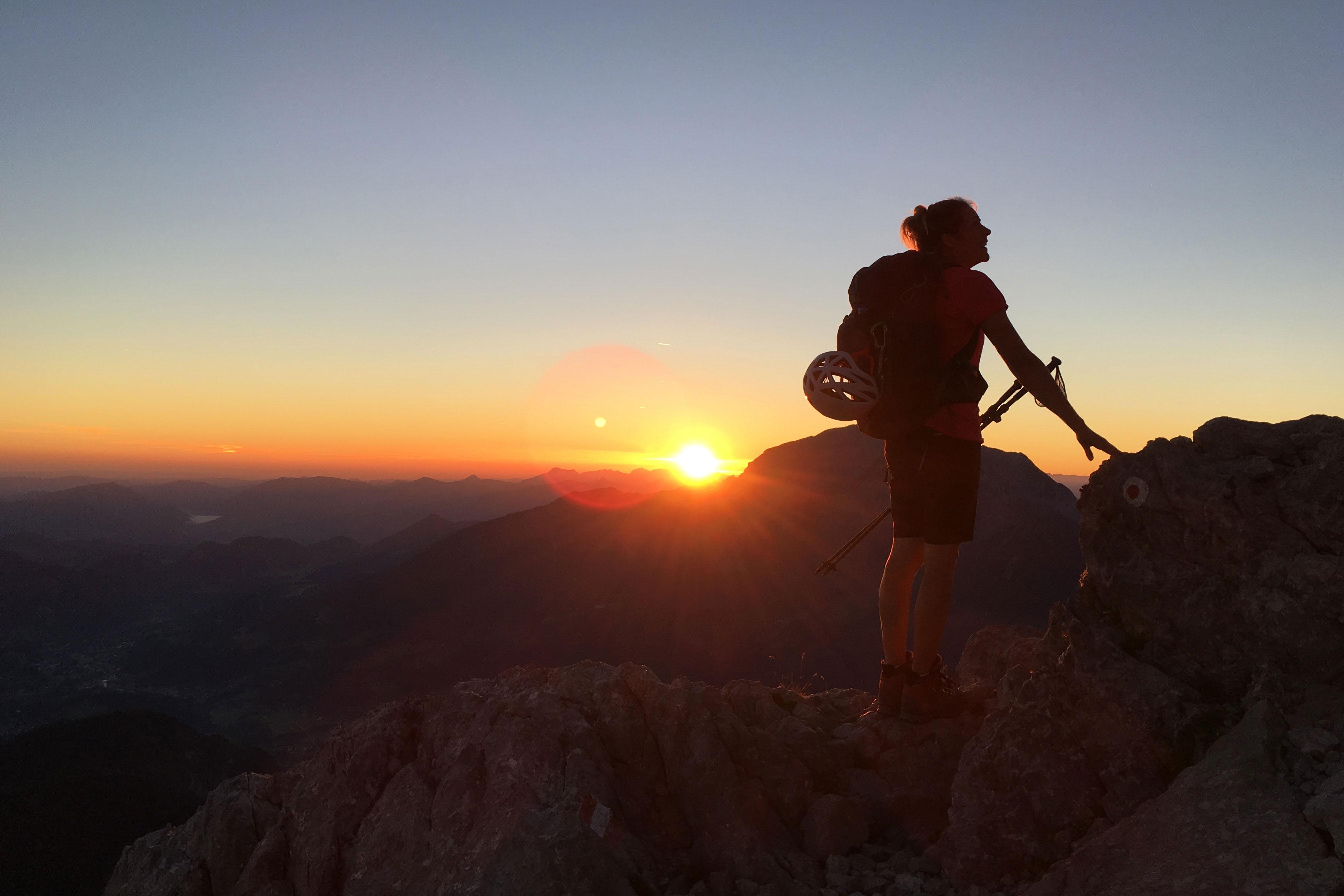 Klettersteigset Watzmann : Vom anfänger zur watzmann Überschreitung bergwelten