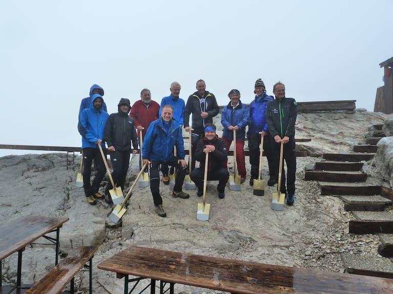 Neue Seethalerhütte Baubeginn